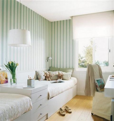 Habitaciones con papel pintado - Decoracion de dormitorios con papel pintado ...